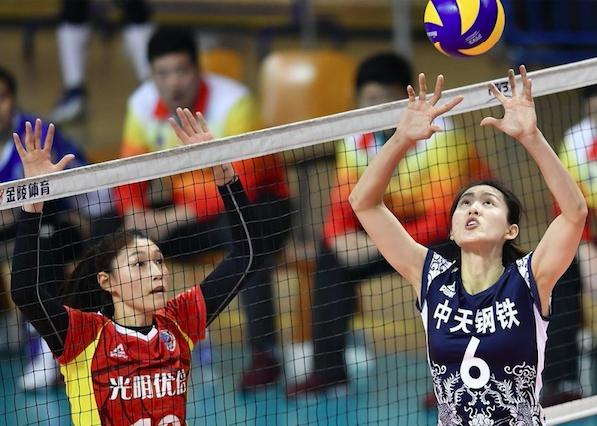 【女排】上海女排3比2客场回敬江苏队