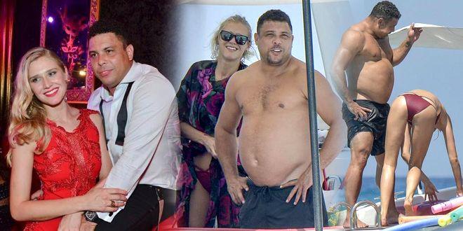 罗纳尔多41岁身材严重发福  今找25岁超模