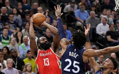 【NBA】火箭单节50分创队史纪录 3比1森林狼