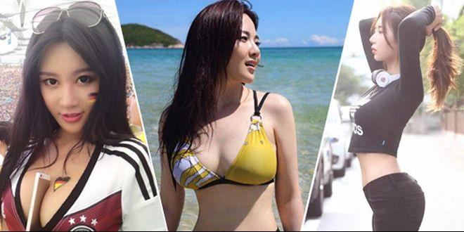 樊玲PK韩国第一健身女神 谁是亚洲最性感女人?