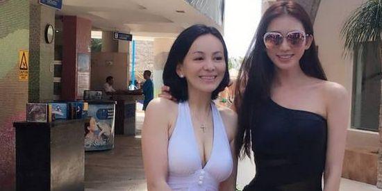 雪姨健身身材喷血 48岁把林志玲秒成飞机场