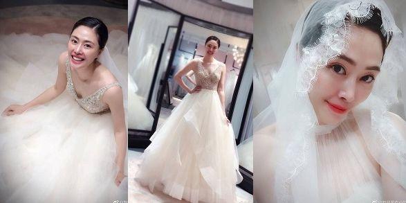 仙气飘飘!中国女排女神穿婚纱超惊艳