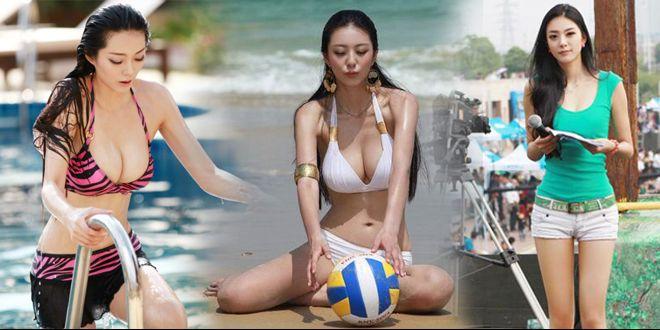 中国第一健身女神 黄金9头身 世界超模都输她