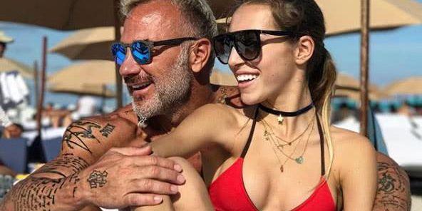 意大利50岁帅老头爱健身 嫩模左拥右抱!