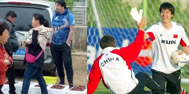 昔日国足世界杯国门如今摆摊卖樱桃引热议