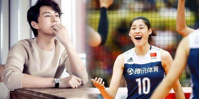 女排奥运冠军示爱男明星 队友劝她别公开表白