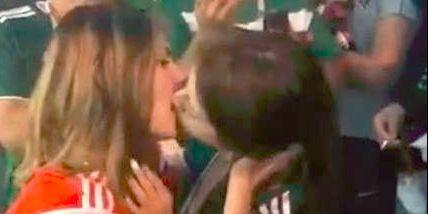 大尺度!世界杯俄罗斯墨西哥美女球迷激吻