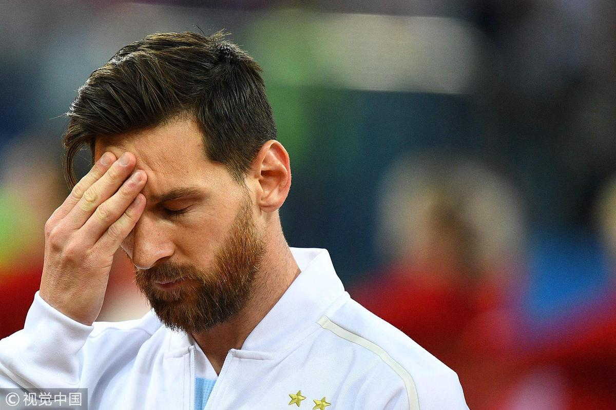 出线告急!阿根廷0-3克罗地亚 梅西隐身