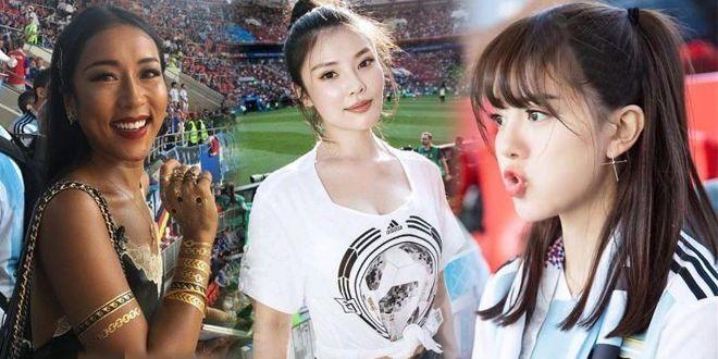 世界杯五大中国美女球迷:三位明星上榜