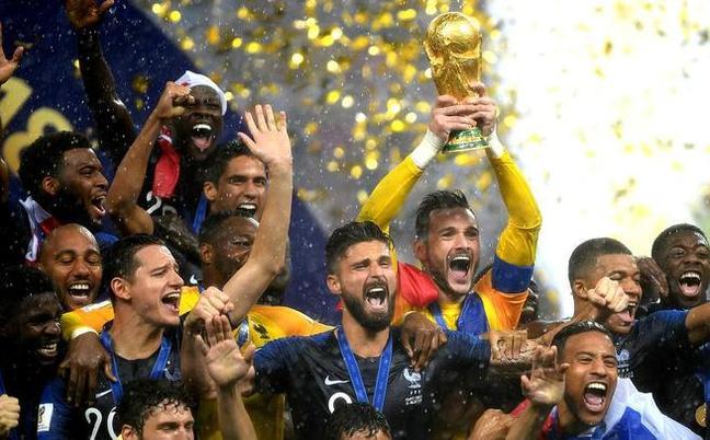 重回巅峰!法国4-2克罗地亚 时隔20年再夺冠
