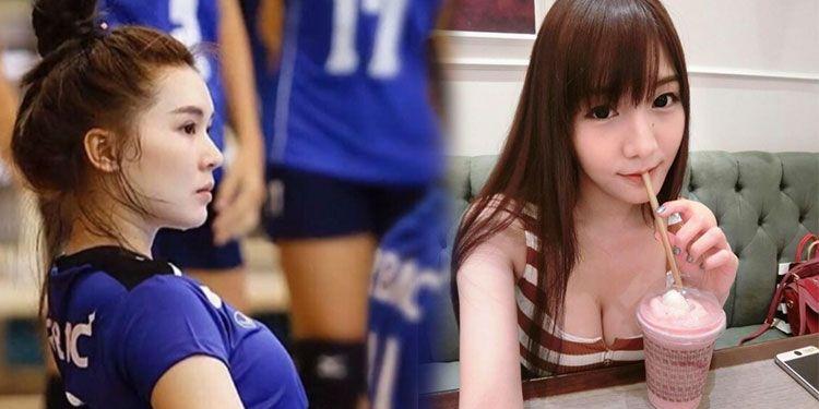 泰国17岁女排长腿玉人走红!