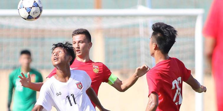 U19中国0-1越南遭全面压制