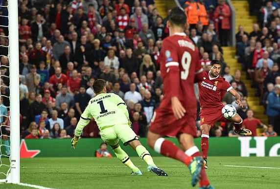 欧冠附加赛利物浦4-2霍村 总分6-3晋级欧冠正赛