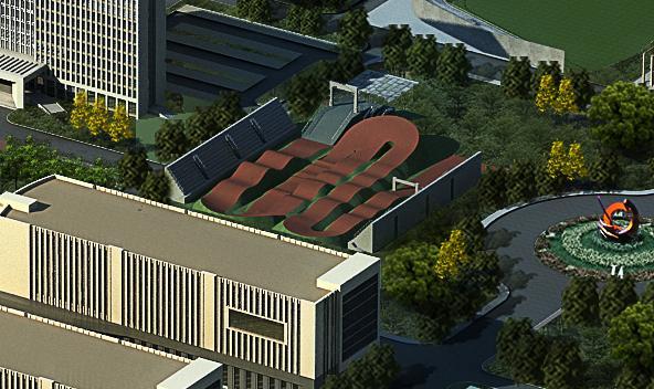 天津体育中心小轮车场:小轮车 第十三届全运会小轮车比赛拟安排在天津体育中心小轮车场举行。该场为新建场馆,由天津建筑设计院设计,目前已完成立项,计划2016年12月竣工。该场规划位于天津市静海区健康产业园天津体育中心内,占地13000平方米,距全运村约24公里。比赛场地长90米,宽60米;观众活动座席2000个;主席台座位50个;附属设施包括:运动员休息室、裁判员休息室、兴奋剂检查站、贵宾室、新闻发布厅等。
