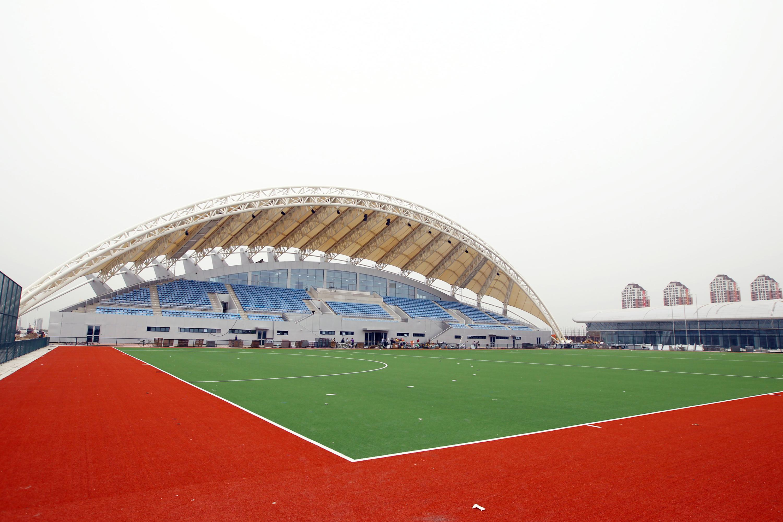 天津体育中心曲棍球场  第十三届全运会曲棍球比赛拟安排在天津体育