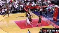 04月17日NBA季后赛G1 奇才vs老鹰 精彩镜头