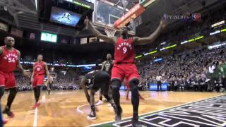 04月21日NBA季后赛 雄鹿vs猛龙 精彩镜头