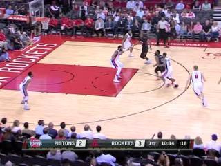 04月08日NBA常规赛 火箭vs活塞 精彩镜头