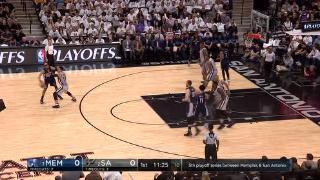 04月16日NBA季后赛 马刺vs灰熊 精彩镜头
