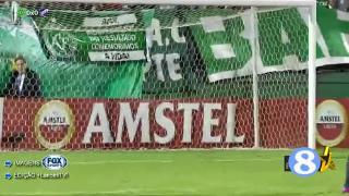 解放者杯-点球破门 沙佩科恩斯1-1乌拉圭民族