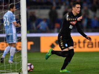 意甲-因西涅两球卡列洪破门 那不勒斯3-0完胜拉齐奥