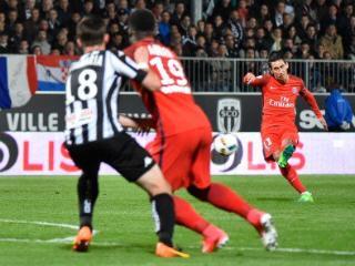 法甲-迪马利亚双响 巴黎2-0昂热迎联赛六连胜