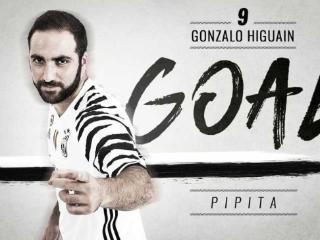半场-伊瓜因双响 尤文客场2-0领先佩斯卡拉