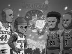 季后赛对阵漫画图