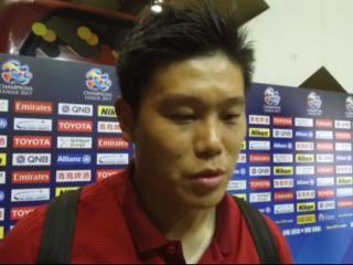 蔡慧康:苏宁踢的很有针对性 丢球是我停球失误