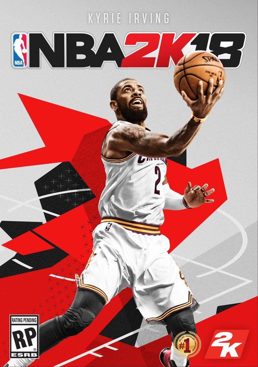 官方:骑士球星欧文当选NBA2K18封面人物