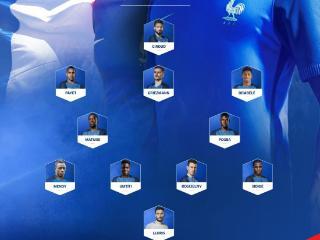 法国VS巴拉圭首发:格子领衔 吉鲁出击锋线