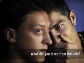 厄齐尔:C罗让我变成更好球员 佩服他对胜利的渴望