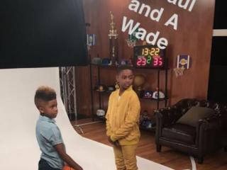 世交情深!韦德儿子和保罗儿子同拍广告