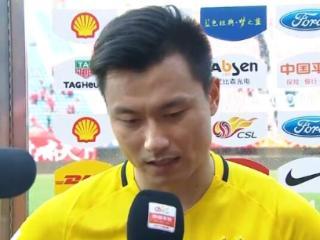 郜林:体能影响使球队踢得很艰难 对结果感到满意