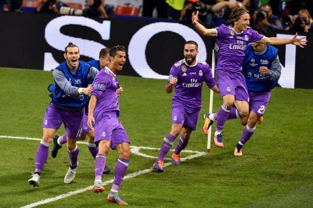 皇马已连续六次欧冠决赛获胜图片