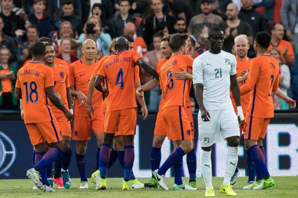 热身赛-罗本传射扬森破门 荷兰5-0大胜科特迪瓦