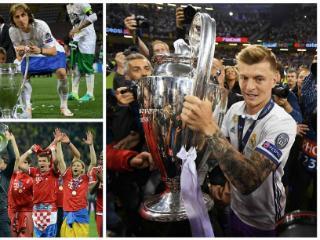 克罗斯成欧冠改制后首位3次夺冠的德国球员