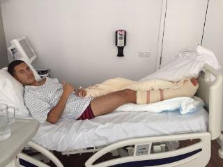 阿扎尔:脚踝手术成功,我会变得更强