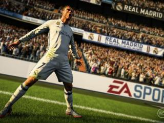 C罗担任FIFA18全球封面代言人