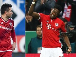 奥地利两后卫领跑五大联赛直接任意球进球榜