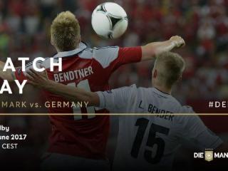 德国VS丹麦首发:特拉普首发 小德任场上队长