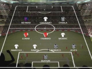 《法国足球》评欧冠最佳阵容:皇马尤文4人 梅西落选