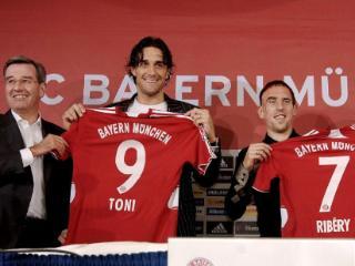 里贝里迎来效力拜仁十周年纪念