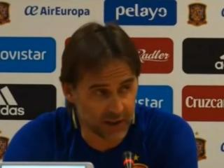 洛佩特吉:西班牙队内气氛很棒 皮克与卡瓦哈尔无矛盾