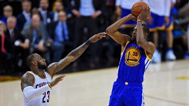 NBA总决赛G3骑士已无退路 欧文赞杜兰特关键