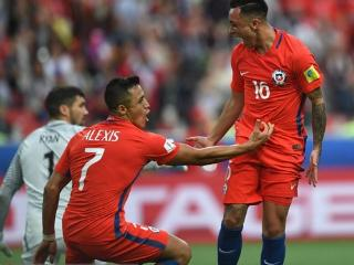 联合会杯:智利1-1澳大利亚 罗德里格斯救主 四强PK葡萄牙