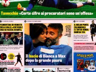 意甲今日头版:多纳鲁马专注欧青赛 老板出售佛罗伦萨