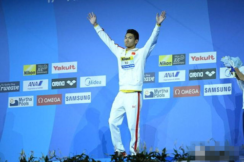中国男子第四位游泳世界冠军出世 徐嘉余豪言与孙杨一起扛大旗