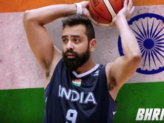 """印度男篮亚洲杯12人大名单:""""印度哈登""""复出 前小牛52号秀在列"""