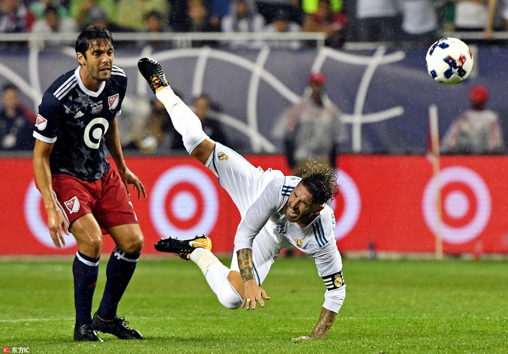 热身赛皇马点球5-3胜MLS明星队 获热身赛首胜